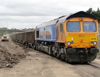 GB Railfreight And Sibelco Extend Contract