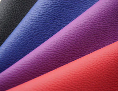 Lantal Textiles Presents Newly Developed TEC-Leather with Amazing Cleanability Properties