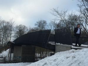 Fiberline Composites' Hybrid Bridge in Husum, Denmark