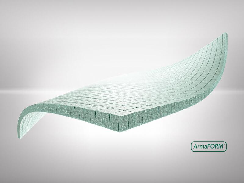 Structural PET foam core