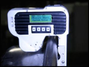 Mini-Electronic Wheel Gauge