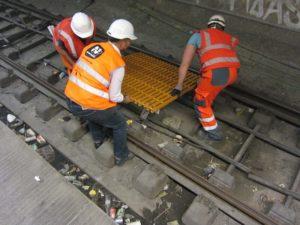 Phenolic Gratings to Nørreport Station from Fiberline Composites
