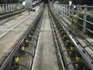 Wheel Flat Measurement System Using Vibration Sensors