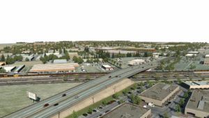 Rendering of the Fresno Trench project
