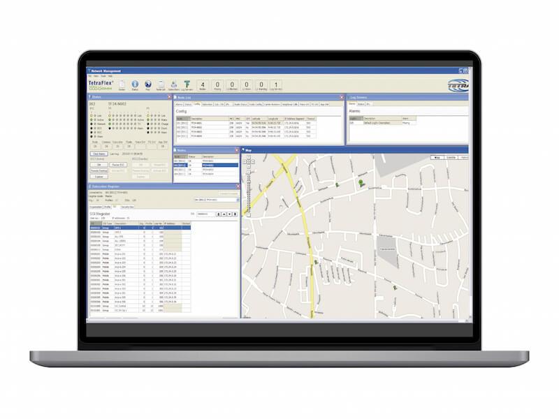 TetraFlex® Network Management