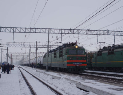 Loading on Russian Railways' Network Amounts to 105.9million Tons