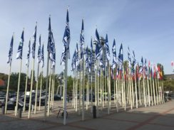 InnoTrans 2016 flags