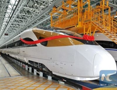 CRRC Overseas Orders up 126% in H1 2016