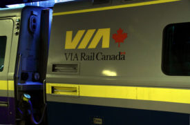 VIA Rail Sees Increased Revenues