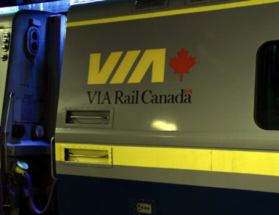 VIA Rail Sees Increased Revenues as Canadians Choose Smarter Way to Travel