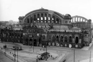 1951 Berlin Ruine des Anhalter Bahnhofes
