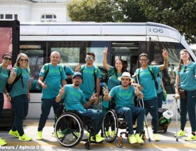 Athletes of the 2016 Paralympics Games Endorse Alstom's Tram of Rio