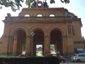 The portico fragment of Anhalter Station's New Anhalter Gate