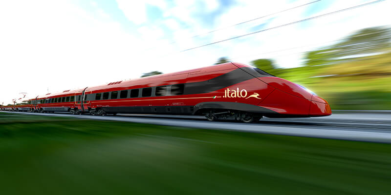 Pendolino High-Speed Trains