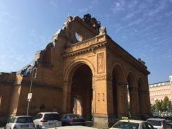 The portico fragment of Berlin's Anhalter Station