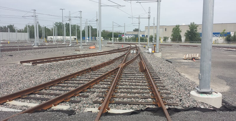 Tracks and systems work in Ottawa
