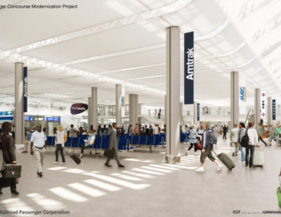 AMTRAK Investment Package to Advance Washington Union Station Concourse Modernisation