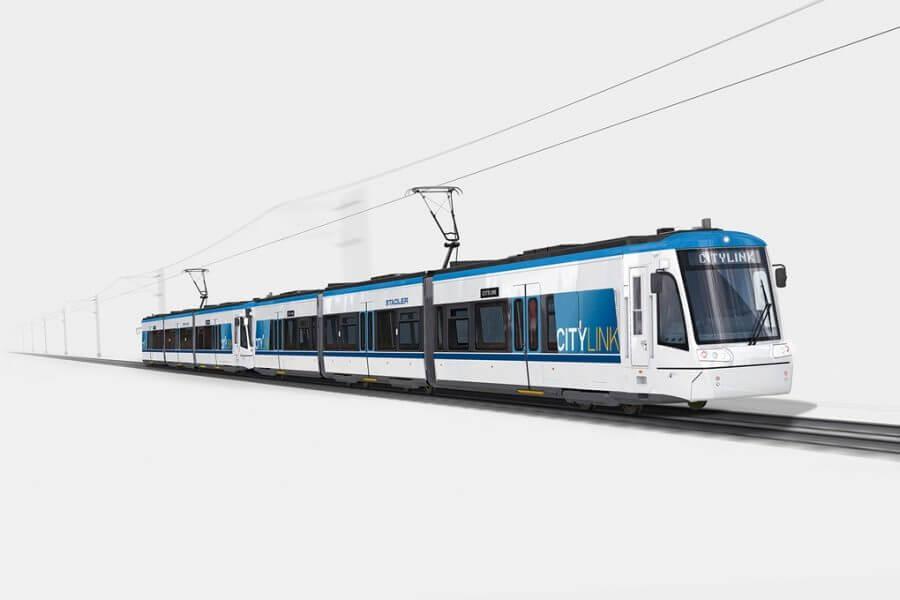 Stadler Citylink Tram © Stadler