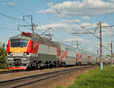 EP20 Electric Locomotive has Won the RZD Rolling Stock Best Quality Competition