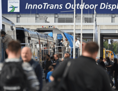 123 Brand New Vehicles Set to Feature at InnoTrans 2016 Outdoor Display