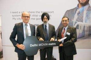Bombardier Delivers First Vehicle for Delhi Metro Order