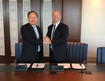 Bombardier and China Railway Rolling Stock Corporation Sign Strategic Cooperation Agreement