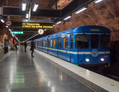 MTR Achieves Record Punctuality on Stockholm Metro