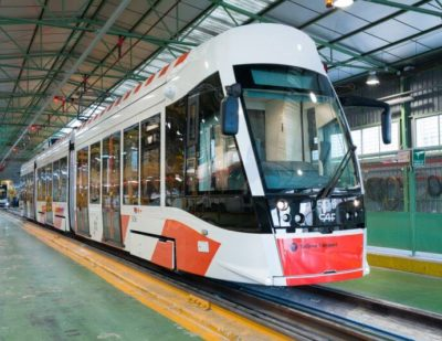 CAF Selected as Preferred Bidder for the New Amsterdam Trams