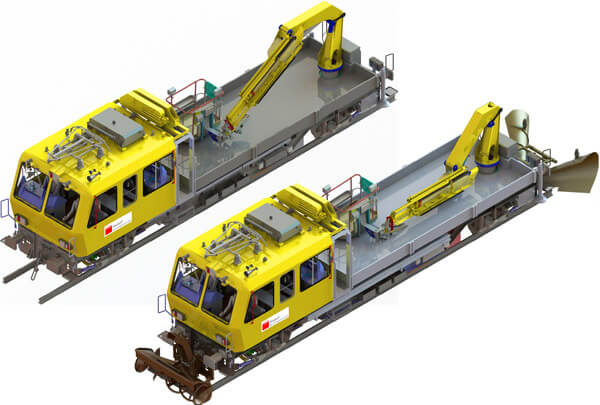 two-axle maintenance vehicles