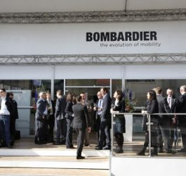 Bombardier at Transport Logistic