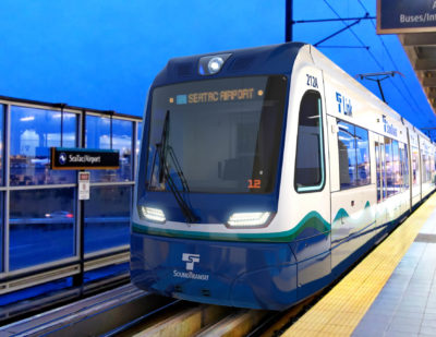 Sound Transit Orders Additional Siemens Light Rail Vehicles