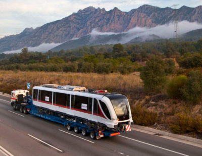 Mexico: Alstom Ships First Metro for Guadalajara Line