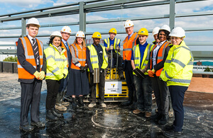 UK's First National College for High Speed Rail Takes Major Step Towards Completion