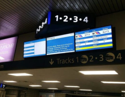New Passenger Information Displays Improve Customer Experience