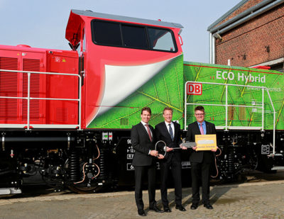 Alstom Hands Over Five Prima H3 Locomotives to Deutsche Bahn