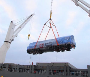 CRRC Locomotives Shipped to Argentina