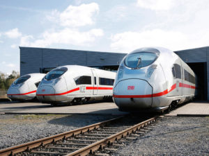 high-speed Velaro D train