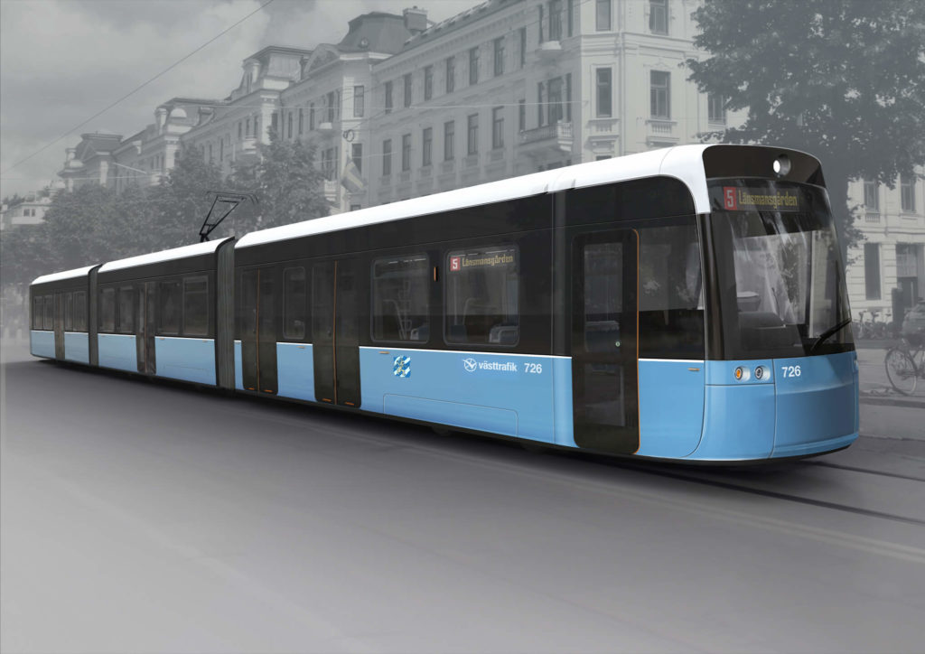 Bombardier Wins Order to Supply 40 FLEXITY Trams to Sweden
