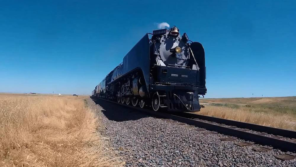 The 'Living Legend' No. 844 Steam Locomotive © Union Pacific