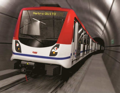 Siemens to Electrify Metro Line in Ecuador