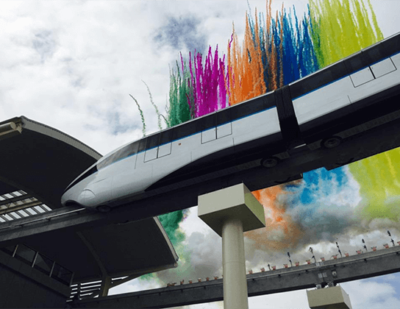 """China: Global Debut of """"SkyRail"""" in Shenzhen"""
