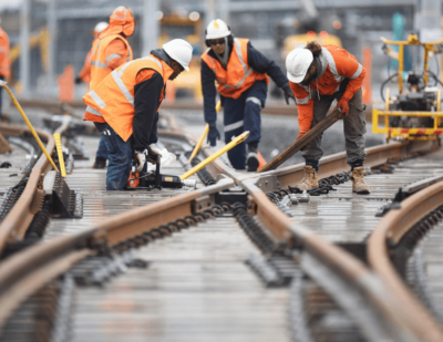 Sydney Metro Track Laying Steams Ahead
