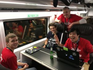 HackTrain 3.0 on the Eurostar