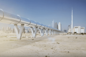 Hyperloop One: Dubai to Abu Dhabi in 12 Minutes
