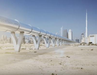 Hyperloop One: Dubai to Abu Dhabi in 12 Minutes