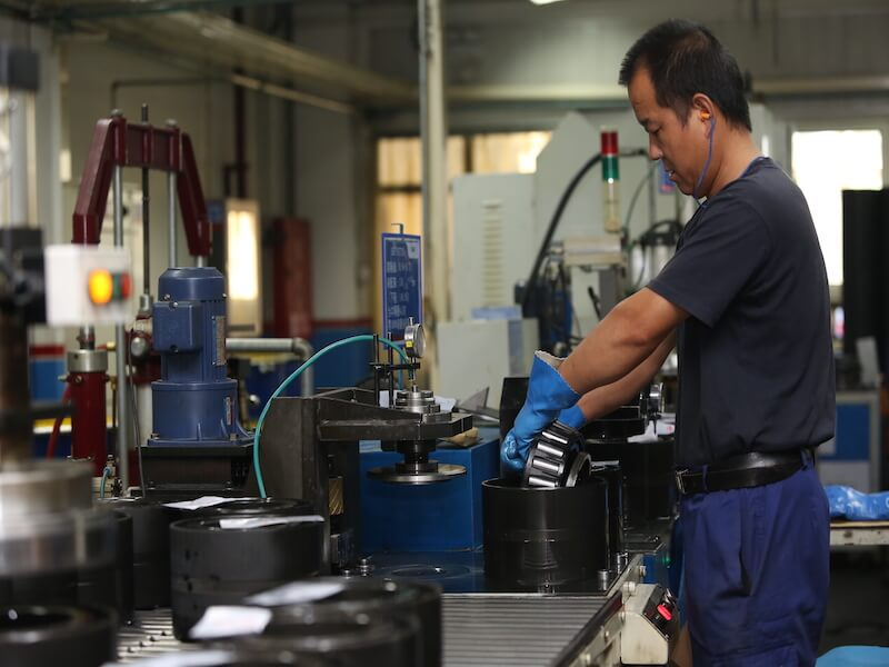 manufacturing/refurbishment of railway bearings