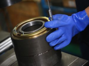 manufacturing/refurbishment of railway bearings