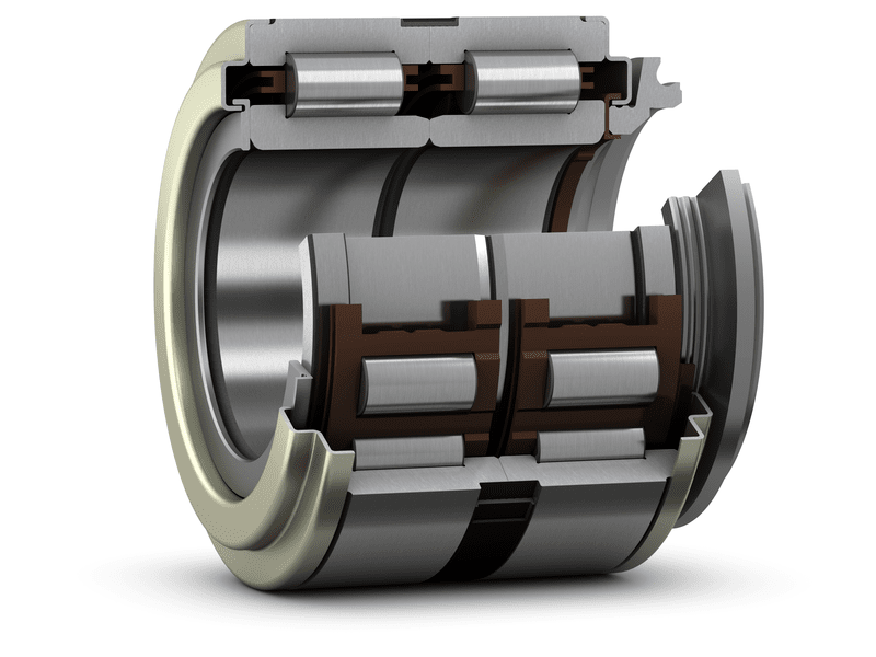 Cylindrical roller bearing units