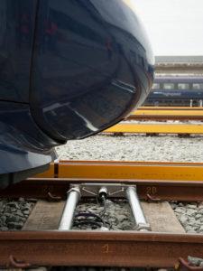 Train Scale Between Rail Fastenings