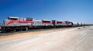In-Motion Train Weighing in the UAE